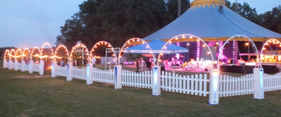 Event im Zirkuszelt